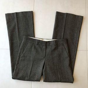 Theory Wool Stretch Tweed Straight Leg Pants P164